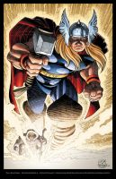 JRJR Townsend Thor colors by JeremyColwell