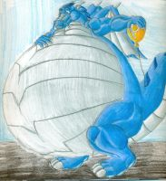 an odd balloon by DracoRex1890