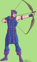 H is for Hawkeye by jillybean200x