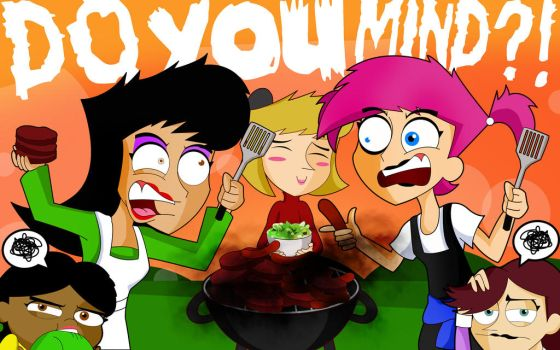 Chips n Grapes - BBQ by xeternalflamebryx
