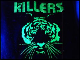 Neon Tiger by GreenTees