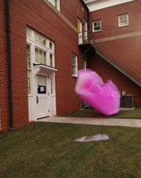 Flying Pink Bubbles by Atlantagirl
