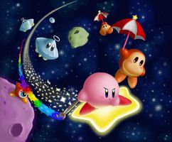 Kirby Rainbow Rush by xTY3x