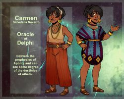DR - The Oracle of Delphi by KammiG