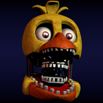 Withered Chica v3 W.I.P by CoolioArt