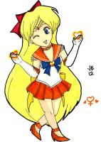 Super Sailor Venus Chibi by jenni0014
