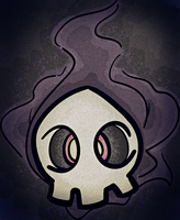 Duskull in LOMO by kkiittuuss