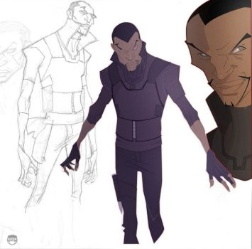 old Blade drawings by CoranKizerStone