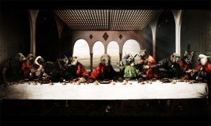 the last supper animal by Wolves-PSD