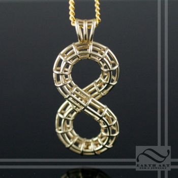 Roller Coaster Pendant by mooredesign13