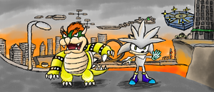 Bowser's Road of Crisis by RosalinaSama