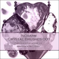 Ischarm Crystal Brushes 001 by ischarm-stock