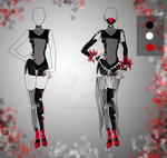 (closed) BUY NOW - Outfit: Bloody Shadow by CherrysDesigns