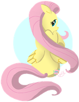Fluttershy by LunarDawn