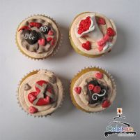 Lovely cupcakes by The-Nonexistent
