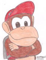 Diddy Kong by MarioSimpson1