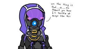 Tali being Tali by mistere17