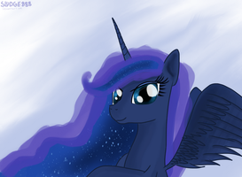 I AM DRAWING LUNA TOO MUCH by Sludge888