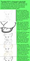 Lineart tutorial by tardis101
