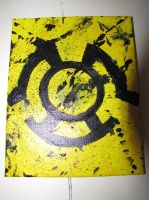 Yellow Lantern- Fear by alekitty86f