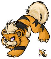 Growlithe by jessijoke