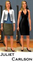 Juliet Carlson- Sims 3 by pudn