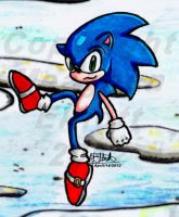 Sky High Sonic by MREcartoonist