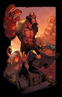 THE HELLBOY by zaratus