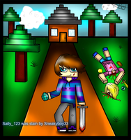 Hunger games,minecraft by NukiARTS