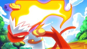Infernape's Blaze :Animation: