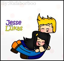 Minecraft Story Mode | Jesse and Lukas! by Raffaborboo