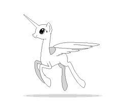 Alicorn Pixel Base by CitrusSqueeze
