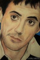Robert Downey Jr by LORMarie44