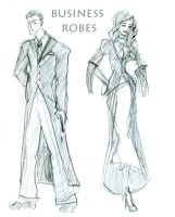 business robes by Hillary-CW