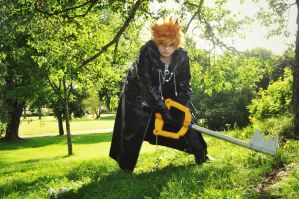 Roxas - Escaping reality. by Millahwood