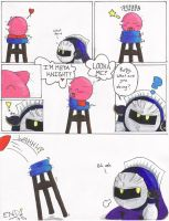 NEVER Give Kirby... by de-crnmeistr