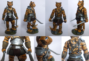 Tiger warrior by CadaverCaptain
