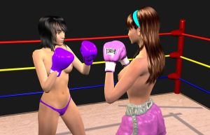 Commision: Lilly Vs YooJung 002 by chuy9502