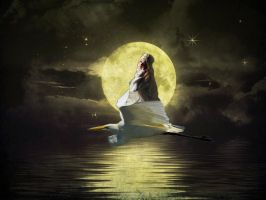 By the Silvery Moon by 3punkins