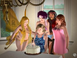 Jeannine turns 103! by Chronophontes