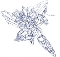 TF Sketch : IDWThundercracker by Radegunde
