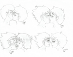 Homestuck: Smooches by ritsukuze