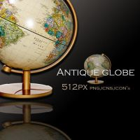 Antique globe icon by luci360yuki