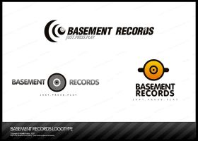 Logotype_ Basement Records by nofx