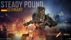Jaeger design- Steady Pound by KAIJUGOD