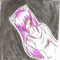 Elfen Lied: Lucy by AlienaxD