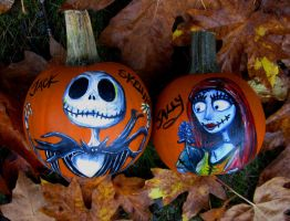 """Simply Meant to Be"" pumpkins by MissCosettePontmercy"