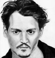 Johnny Depp 2 by She-sAPirate