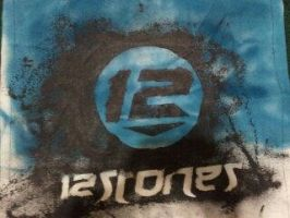 12 Stones Poster by Wolfriderxangel