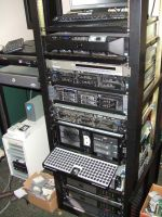Server rack at my old job (2012) by PaulRokicki